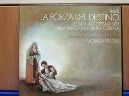 LP005 - COFANETTO 3 LP + LIBRETTO - LA FORZA DEL DESTINO - - Opera