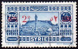 Syrie Obl. N° 242 ** Site - ALEP - Surchargé - Syrie (1919-1945)