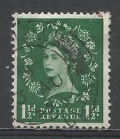 Great Britain 1956. Scott #319 (U) Queen Elizabeth II * - Oblitérés