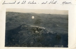 Carte Photo - Souvenir D'El Kalaa Des Sless - Scan Du Verso Avec Texte Qui Localise - Autres