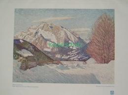 190-2 Schmid-Fichtelberg. Hochkalter Berchtesg.Farbdruck 1910!! - Decretos & Leyes