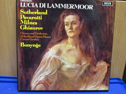 LP006 - COFANETTO 3 LP + LIBRETTO - LUCIA DI LAMMERMOUR - - Oper & Operette