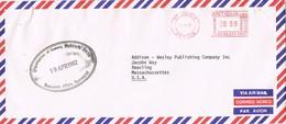 30990. Carta Aerea St. JOHN'S (Antigua) 1982. Organisation Eastern Caribbean - Antigua Y Barbuda (1981-...)