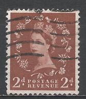 Great Britain 1955. Scott #320 (U) Queen Elizabeth II * - Oblitérés