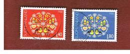 FINLANDIA (FINLAND) -  SG 1172.1173  -    1988   CHRISTMAS: COMPLET SET OF 2   -    USED ° - Usados