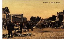Cobeil. Place Du Marché. - Corbeil Essonnes