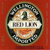 Br. Union (Jumet) - Wellington Red Lion - Bière