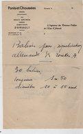 VP13.855 - Guerre 39 / 45 - Lettre Des Ponts Et Chausées à AIRVAULT - Balises Pour Signalisation Allemande Des Routes A - Historische Documenten