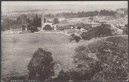 Castle Cary, Somerset, 1907 - J H Roberts Postcard - England