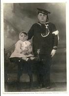 """2093 """" PRIMA COMUNIONE - VESTITO DA MARINARETTO - APRILE 1934 """" FOTO ORIGINALE - Persone Anonimi"""