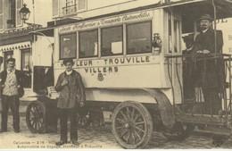 CP - CALVADOS - HONFLEUR - AUTOMOBILE DE VOYAGE - HONFLEUR A TROUVILLE - C'ÉTAIT LA FRANCE - CECODI - REPRODUCTION - Honfleur
