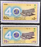 Saudi Arabia 1988 WHO,40th. Anniv. - Saudi Arabia