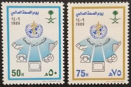Saudi Arabia 1989 World Health Day - Saudi Arabia