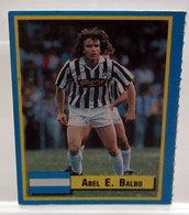 TOP MICRO CARDS 1989 VALLARDI ABEL BALBO - Trading Cards