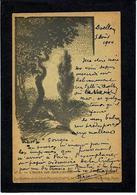 CPA Vibert Les Maitres De La Carte Postale Art Nouveau Circulé 1900 - Autres Illustrateurs