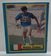 TOP MICRO CARDS 1989 VALLARDI AMEDEO CARBONI - Trading Cards