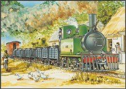 Charles Rycraft - Cavan And Leitrim Railway, 1995 - An Post Stamp Card - Trains