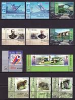 Armenien/Armenie/Armenia/Artsakh/Karabakh 2018, Complete Year Set 17 Stamps 2 MS, The Left Corners  - MNH ** - Armenien