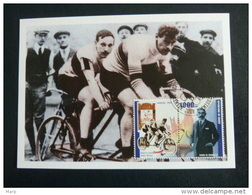 Republic De Guinee Olympics Cycling London 1908 On Kind Of Maximcard Or Memorycard 2001 - Verano 1908: Londres