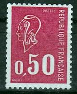 Marianne De Bequet Type E Gomme Tropicale Et N° Rouge Au Verso Ou Type B (même Cote) - 1971-76 Marianne (Béquet)