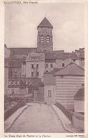 Le Vieux Pont De Peyrat Et Le Clocher - France