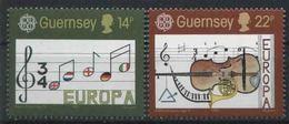 1985 Europa C.E.P.T. , Guernsey , Serie Completa Nuova (**) - Europa-CEPT