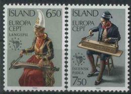 1985 Europa C.E.P.T. , Islanda , Serie Completa Nuova (**) - Europa-CEPT