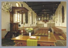 NL.- HINDELOOPEN. Interieur Grote Kerk. Orgel. Preekstoel. . - Kerken En Kathedralen