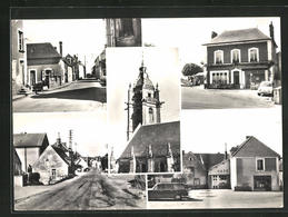 CPA Courgeon, Notre Bourg, Vues De Rues - France