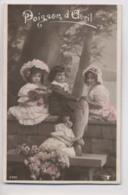 1er Avril - 4 Enfants Et Poisson - 1908 - Poisson D'avril - Erster April