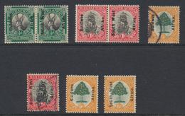 South West Africa - Sud Ouest Africain 1926 - 1927 Lot De Timbres * MH Et Oblit  ( 1/2p Et 1p Se Tenant) - South West Africa (1923-1990)