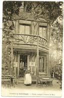 GARCHES Pub Avenue De Celles St Cloud Café Restaurant Bertin : Chalet Rustique à L'entrée Du Bois Carrefour St Cucufa - Garches