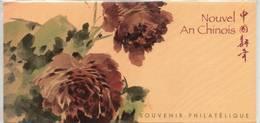 NOUVEL AN CHINOIS BLOC SOUVENIR SOUS BLISTER   SUPERBE - Souvenir Blocks & Sheetlets