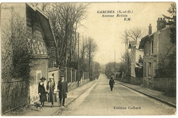 GARCHES Avenue Brézin EM Ed. Collard, Envoi 1926 - Garches