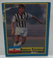 TOP MICRO CARDS 1989 CVETKOVIC - Trading Cards