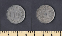Peru 10 Centavos 1880 - Pérou
