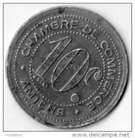 FRANCE JETON TOURISTIQUE AMIENS 10 CENTIMES 1920 N° 562D - Touristiques