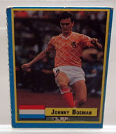 TOP MICRO CARDS 1989  JOHNNY BOSMAN - Trading Cards