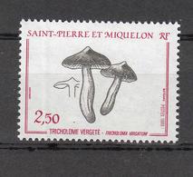 1989     N° 497  NEUF **    CATALOGUE YVERT - St.Pierre Et Miquelon