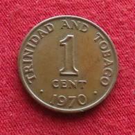 Trinidad E Tobago 1 Cent 1970 KM# 1 Trinite & Tobbacco - Trinité & Tobago