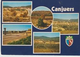 CP - PHOTO - COMPS - CAMP MILITAIRE DE CANJUERS - COMBIER - MULTIVUES - 5 VUES - Comps-sur-Artuby