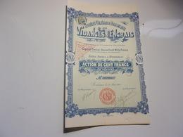Générale Bordelaise De VIDANGES & ENGRAIS (1901) Bordeaux , Gironde - Actions & Titres