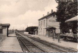 CPSM  52 HAUTE- MARNE - PREZ - Sous - LAFAUCHE - La Gare - N°5533 - Autres Communes