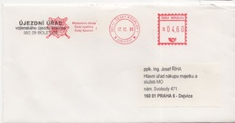 1999 Cover From Ministry Of Defense Cesky Krumlov - Czech Republic