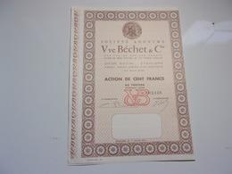 Vve Béchet & Cie (étauliers , Saint Ciers Sur Gironde) - Unclassified