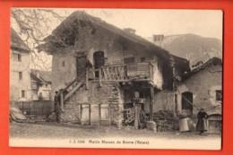 VAA-07  Vieille Maison De Sierre, ANIME  Non Circulé  Jullien 3188 - VS Valais
