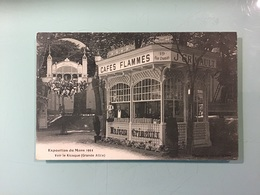 LE MANS - Exposition Du Mans 1911 - Voir Le Kiosque ( Grande Allée ) - Le Mans