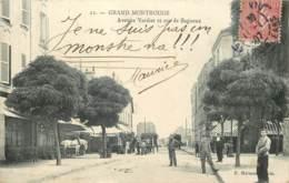 92 - GRAND MONTROUGE - Avenue Verdier Et Rue De Bagneux En 1907 - Montrouge