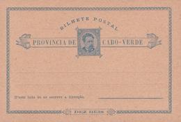E.P. Bilhete Postal - Provincia De Cabo Verde - Etat Neuf - Cape Verde