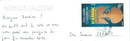 Nouvelle Calédonie KANAK Sur CPM Entière - Covers & Documents